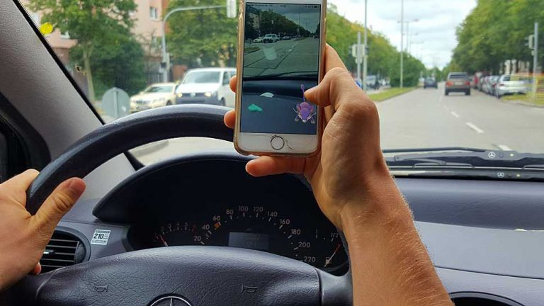 Pokémon Go gefährlich im Verkehrsalltag
