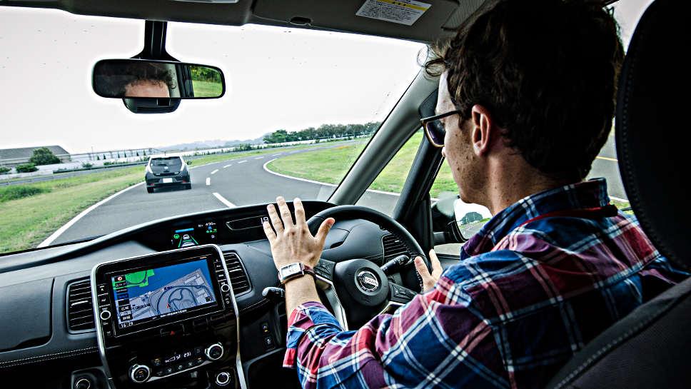 Nissan erprobt das autonome Fahren in Japan