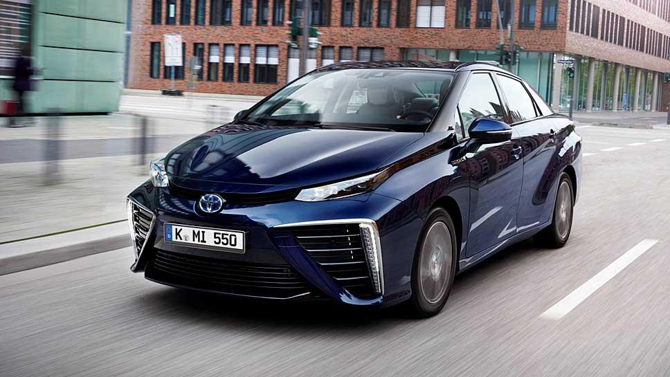 Der Mirai ist Toyotas erstes Brennstoffzellenauto in Serie