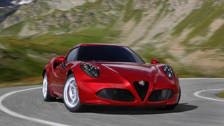 Alfa Romeo dreht am Sound des 4C