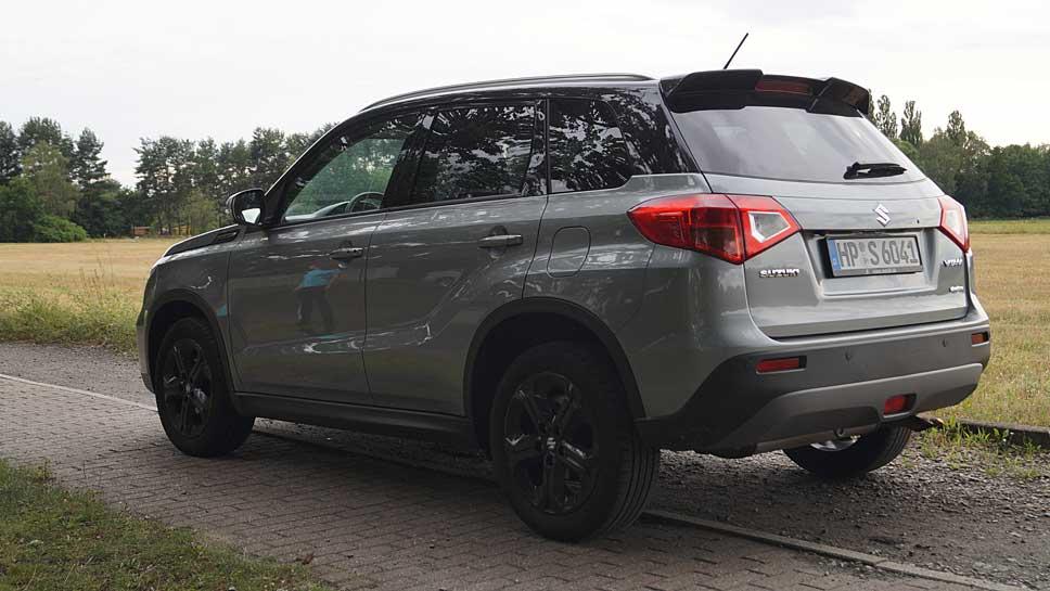 Der Suzuki Vitara S verfügt über 140 PS