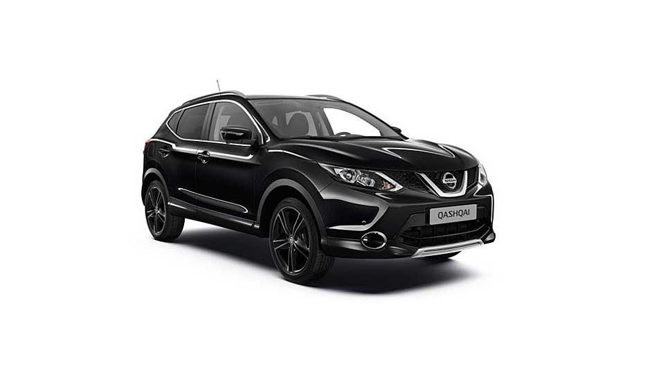 Nissan bringt mit der Qashqai Black Edition das Topmodell der Baureihe