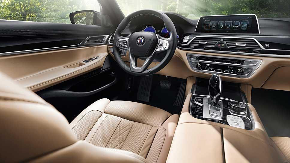 Alpina stylt den 7er BMW zum Supersportwagen