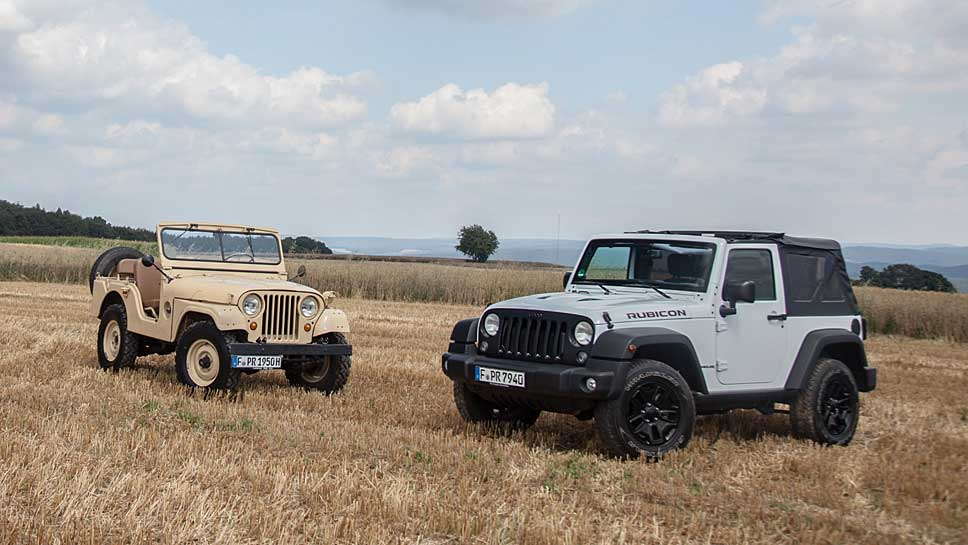 Jeep blickt auf 75 Jahre zurück.