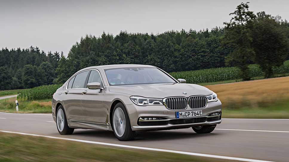 Der 7er BMW ist in China sehr beliebt