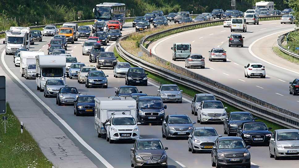 Mit starkem Verkehr ist am kommenden Wochenende zu rechnen