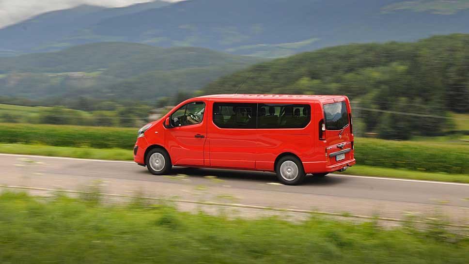 Der Opel Vivaro zeigt Bergsteigerqualitäten