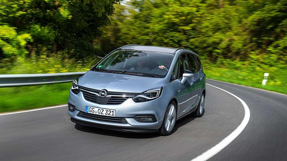 Beim Opel Zafira Active ergibt sich ein Preisvorteil von über 3000 Euro.