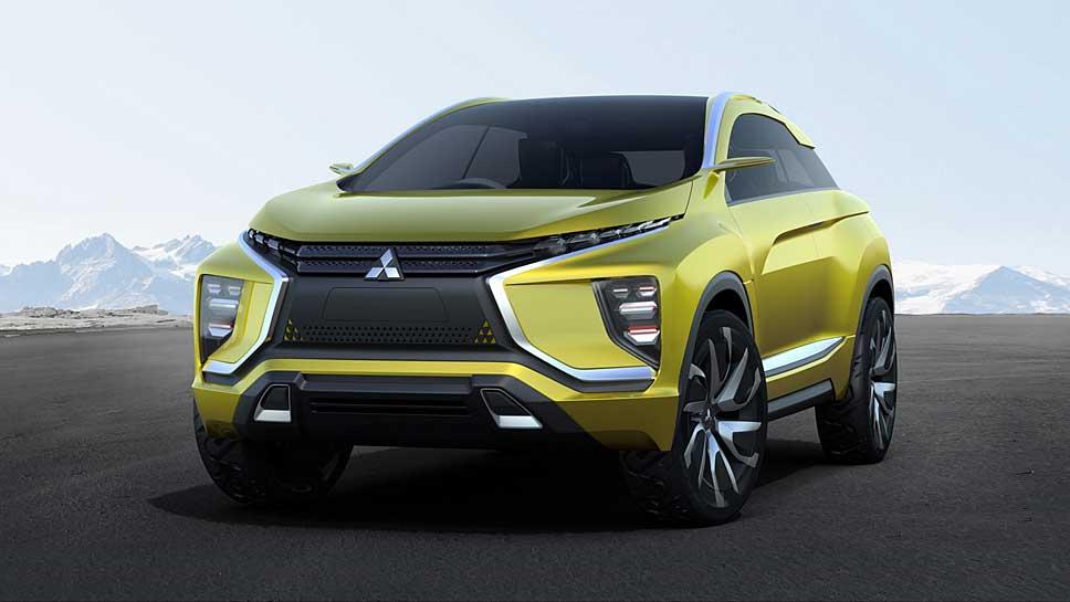 Der Mitsubishi eX dient als Vorlage für das XM Concept