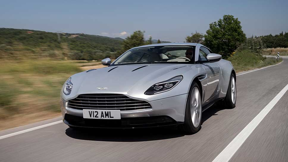 Der Aston Martin DB11 liebt Understatement