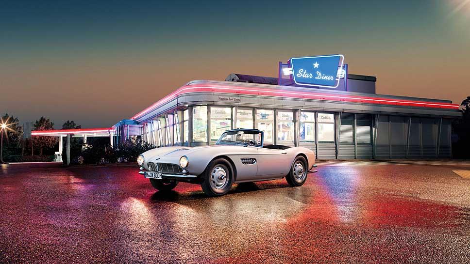 BMW hat in zwei Jahren Elvis' alten 507 völlig neu aufgebaut