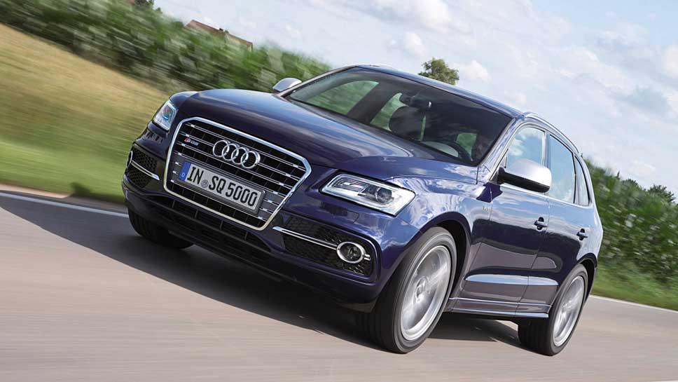 Seit 2013 gibt es den Audi Q5 als sportliches SQ5-Modell