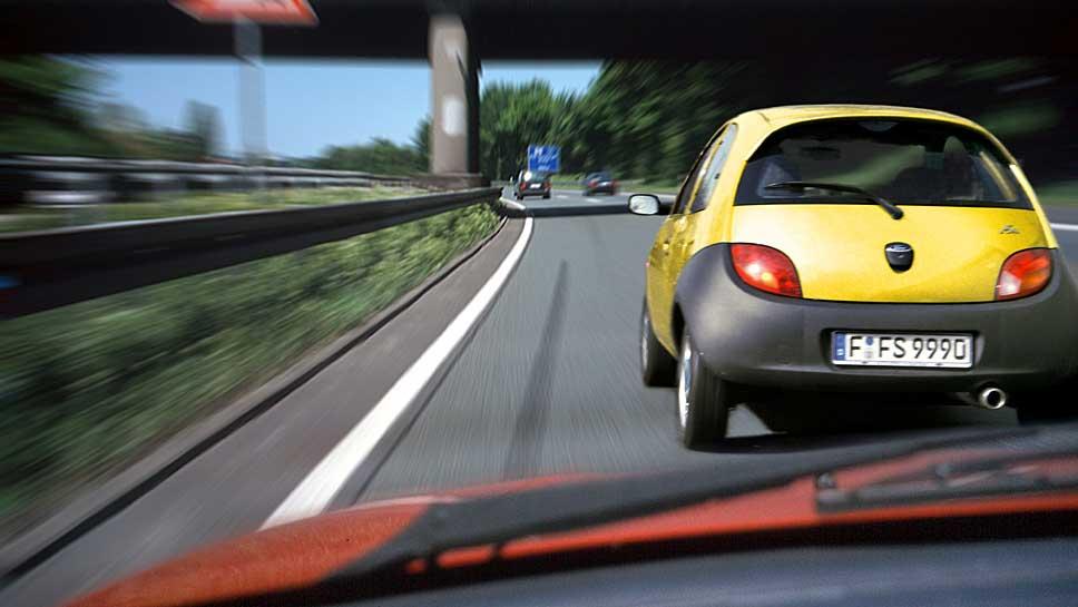 Es wird immer häufiger auf der Autobahn gedrängelt.