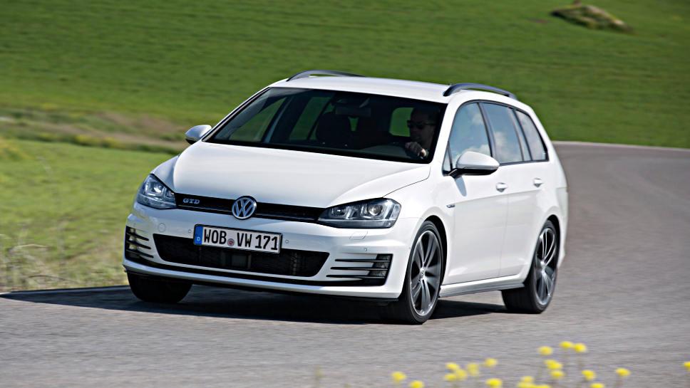 Bietet eine Menge Fahrspaß, der VW Golf GTD Variant.