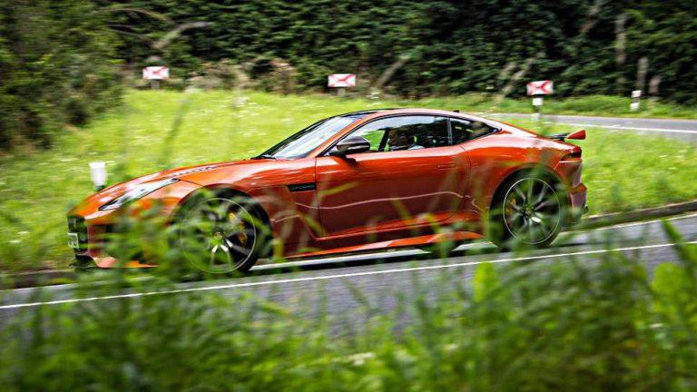 Jaguar F-Type SVR: Etwas mehr PS geht immer