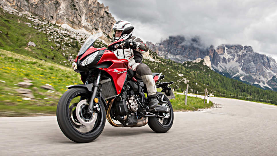 Die Yamaha Tracer 700 hat 75 PS.