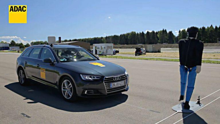 Notbremsassistenten von Audi und Subaru überzeugen