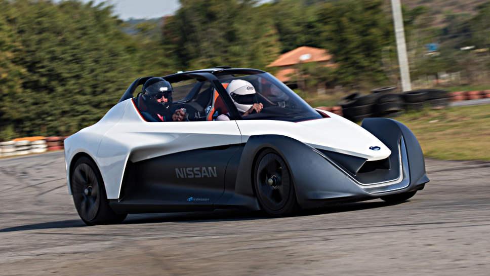 Der Blade-Glider von Nissan.