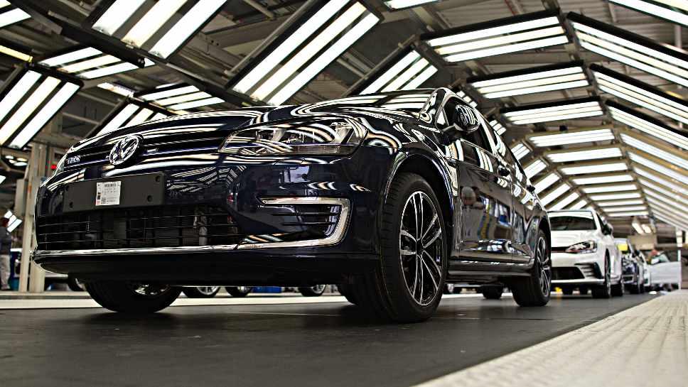 Der Modellwechsel beim Golf zog Einbrüche für VW nach sich