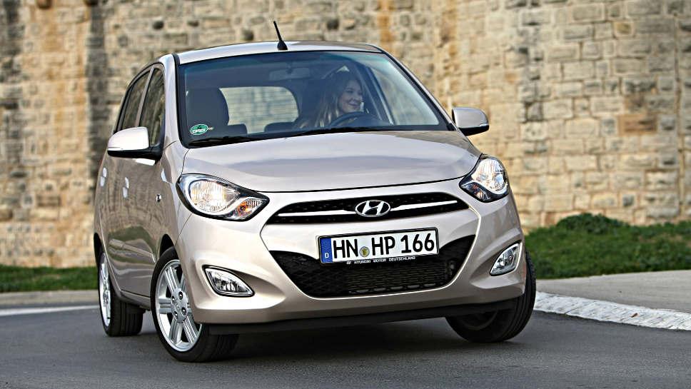 Der Hyundai i10 hat etliche Mängel als Gebrauchter.