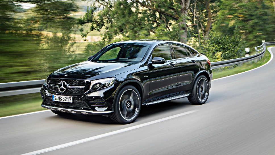 So sieht der Mercedes GLC als AMG-Version aus.