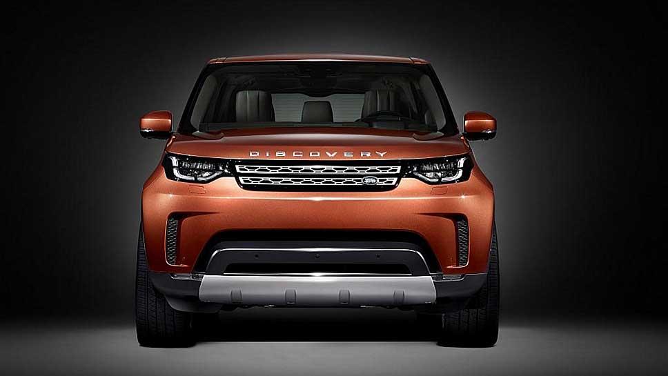 Der Land Rover Discovery feiert Premiere in Paris