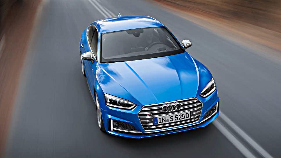 Der Audi S5 Sportback kommt im kommenden Jahr auf den Markt.