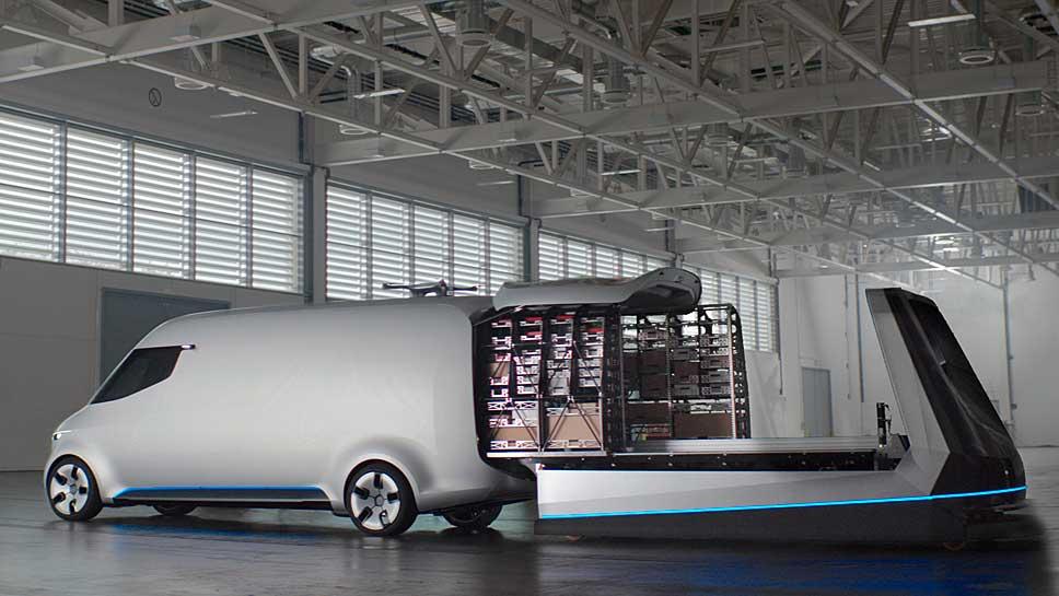 Mercedes erleichtert den städtischen Lieferverkehr der Zukunft