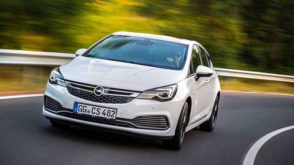 Opel verschärft die Optik des neuen Astra