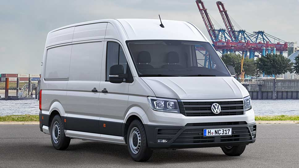 Der neue VW Crafter wurde zum Van of the Year gewählt