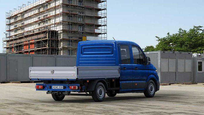 Den VW Crafter gibt es auch weiterhin mit verschiedenen Aufbauten