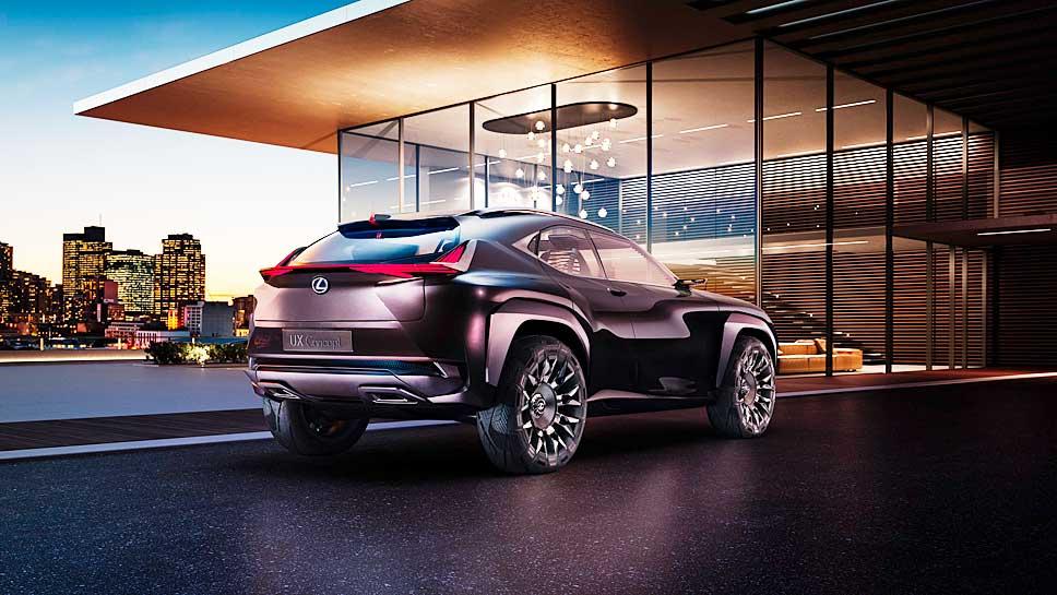 Lexus stellt die Studie UX Concept auf große Räder