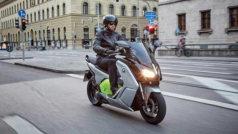 BMW Motorrad bringt C evolution in zwei Varianten