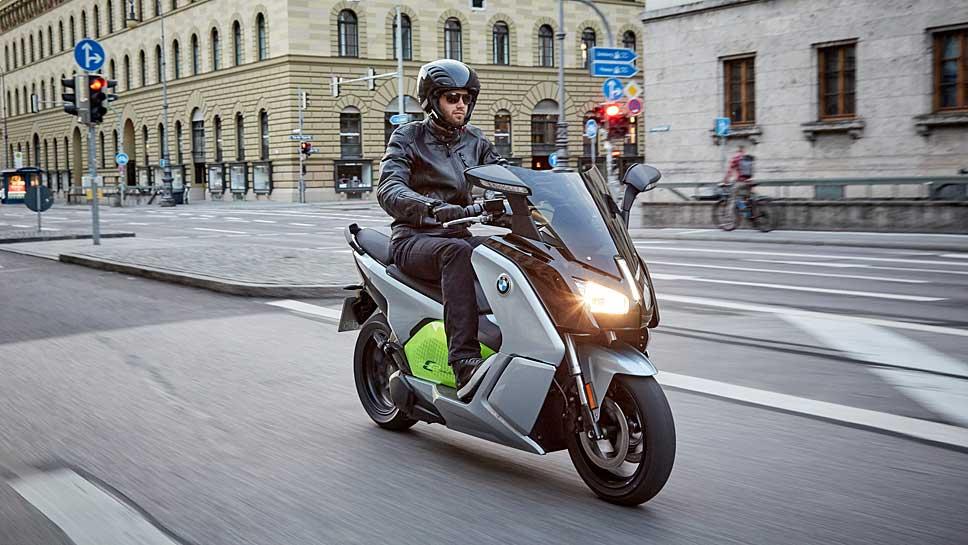 Die neue BMW C evolution verfügt über mehr PS und Reichweite