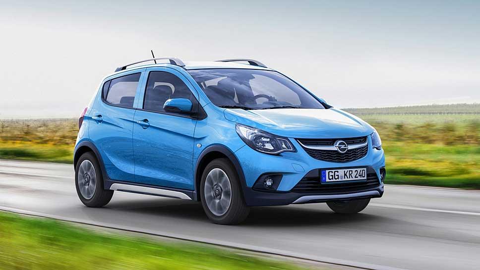 Der Opel Karl Rocks steht ab sofort bei den Händlern.