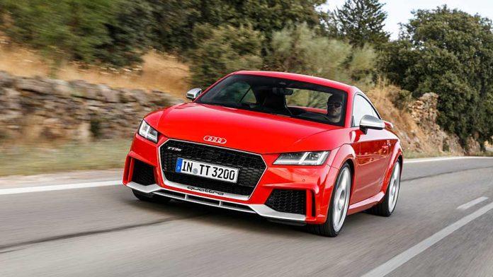 Audi hat dem TT RS weitere 60 PS verliehen. Foto. Audi