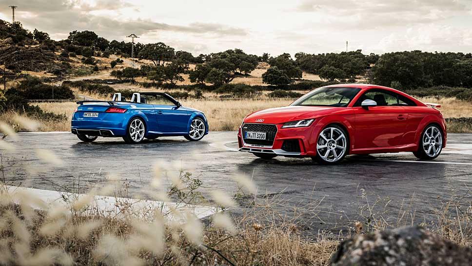 Audi hat dem TT RS weitere 60 PS verliehen
