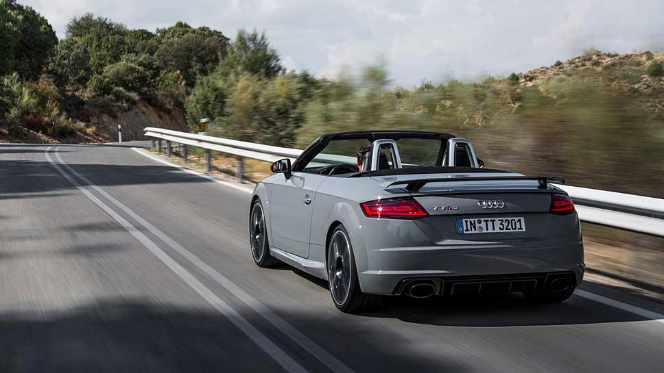 Audi hat dem TT RS weitere 60 PS verliehen. Foto: Audo