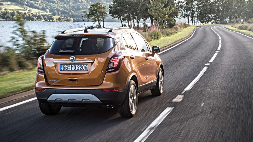 Der Opel Mokka X mag es gemütlich