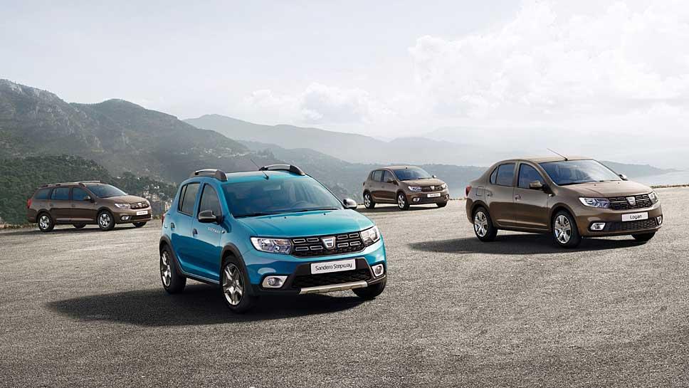 Dacia erneuert die Sandero- und Logan-Baureihen