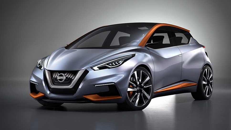 Die Nissan-Studie Sway dient als Vorbild für den neuen Micra