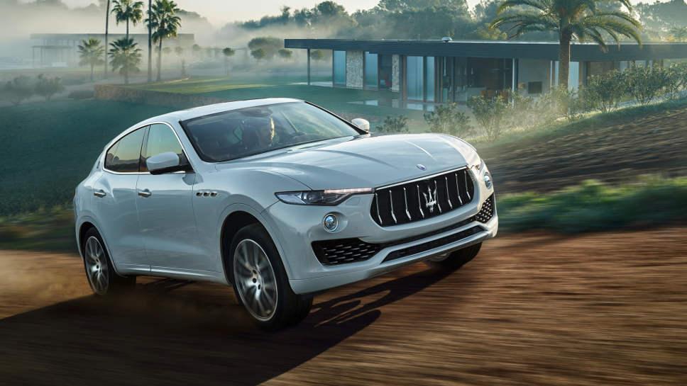 Auch Maserati bietet mit dem Levante einen SUV.