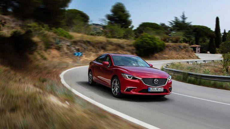Mazda6: In der Kurve liegt die Kraft