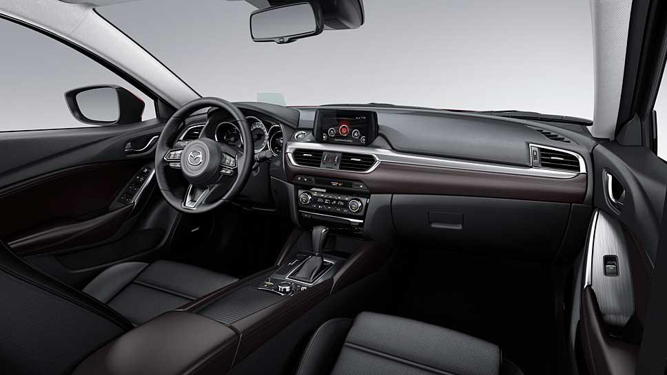Eine ruhige Fahrt im neuen Mazda6 ist garantiert