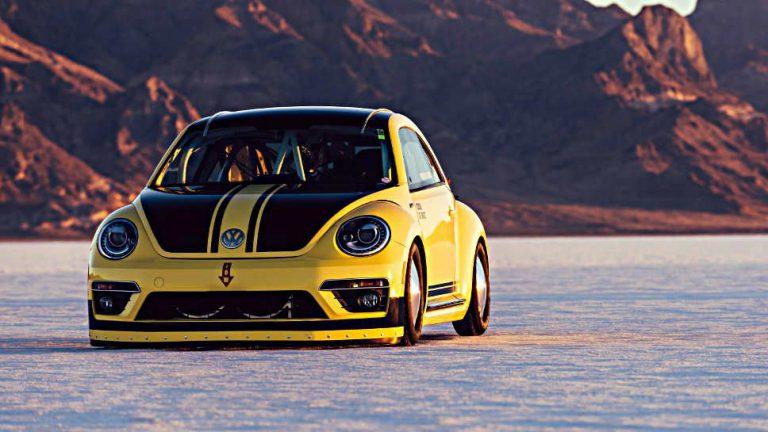 Ein VW Beetle auf Speed