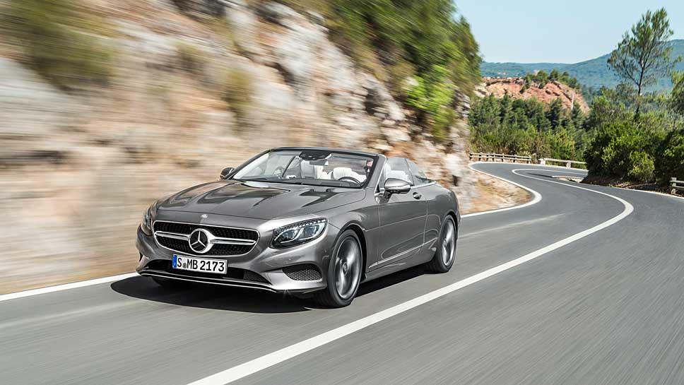 Mercedes fährt in der Oberklasse wieder offen
