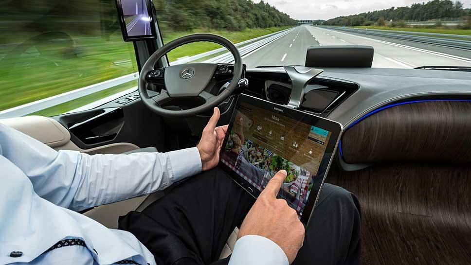 Das Berufsbild des Lkw-Fahrers verändert sich ebenso wie die gesamte Branche