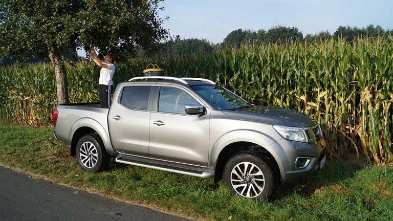 Nissan Navara: Nicht nur für unbekannte Stuntmänner