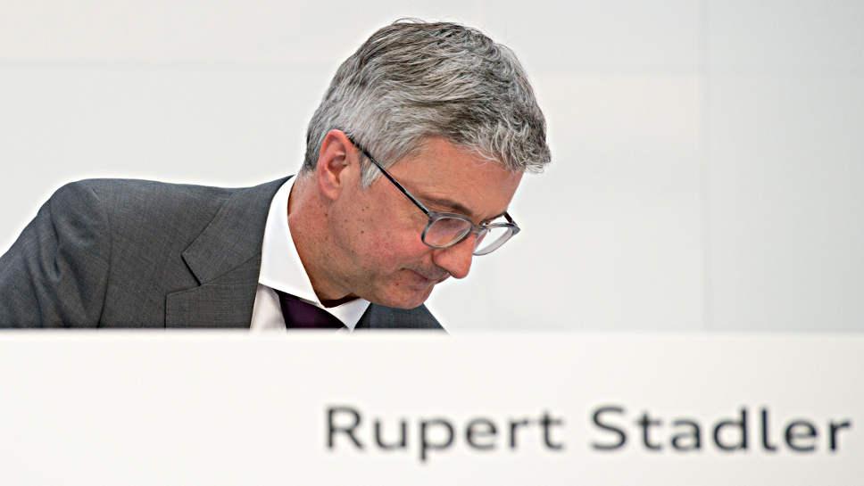 Rupert Stadler genießt weiter das Vertrauen des Aufsichtsrats.