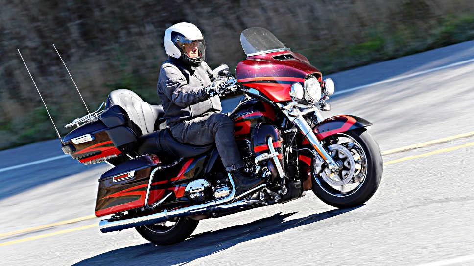 Über 400 Kilogramm schwer, die Harley CVO Limited